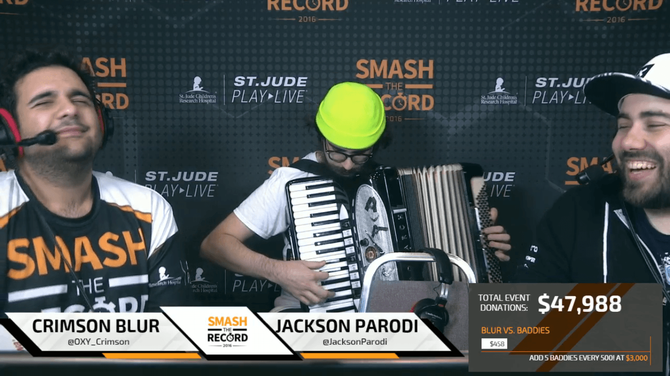 Smash the Record Raises Money for St. Jude Children's Hospital
