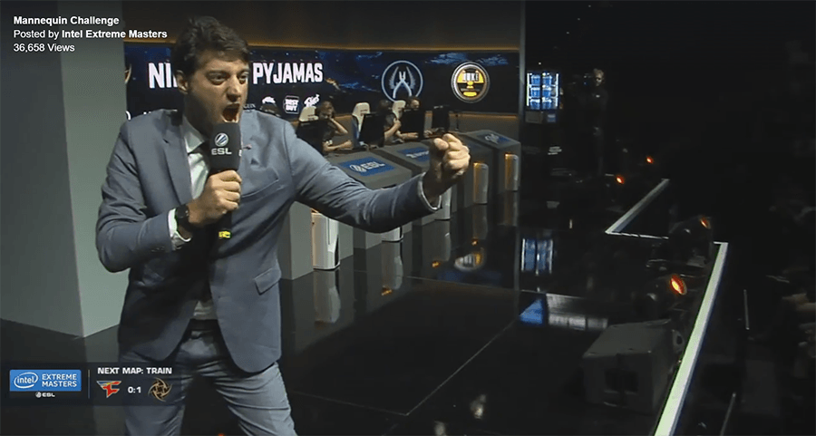 IEM Oakland 2016 does the Mannequin Challenge!