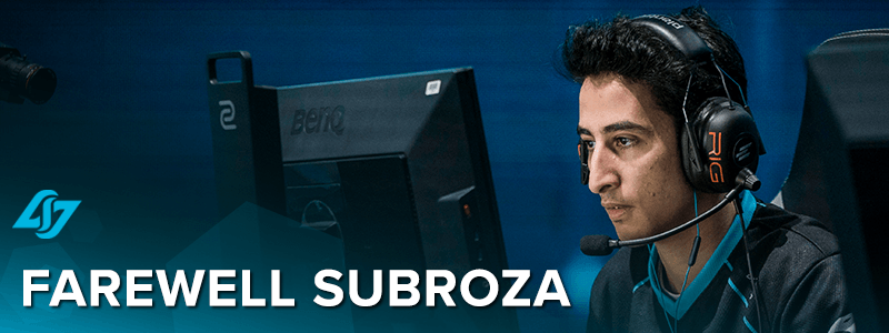 "Yassine ""Subroza"" Taoufik leaves CLG"