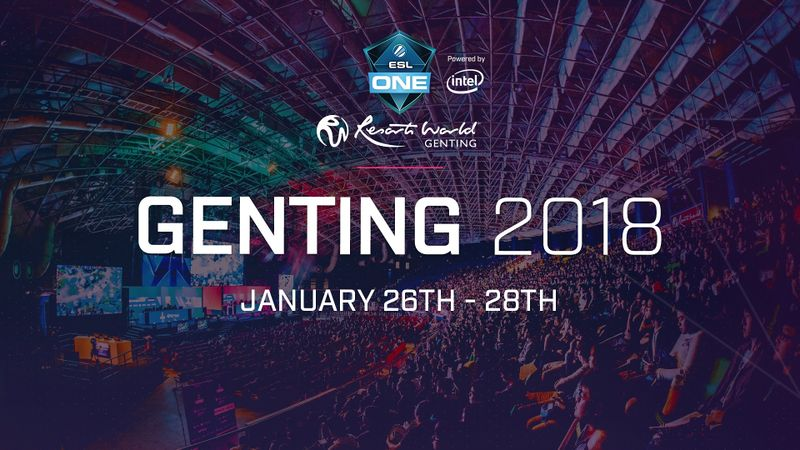 ESL One Genting 2018 Schedule and format released