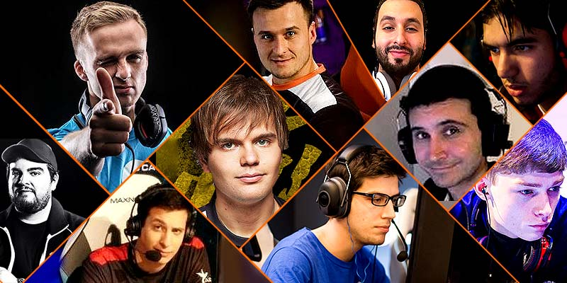 Top 20 most popular CSGO players (3/27/2018) by J_Cleffe