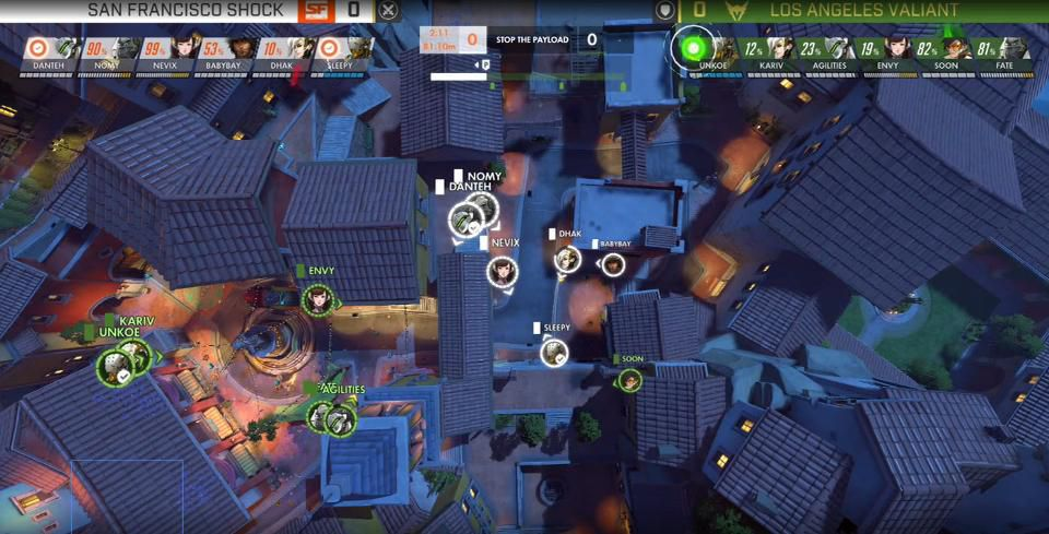 The Overwatch World Cup Viewer : New Spectating and Replay