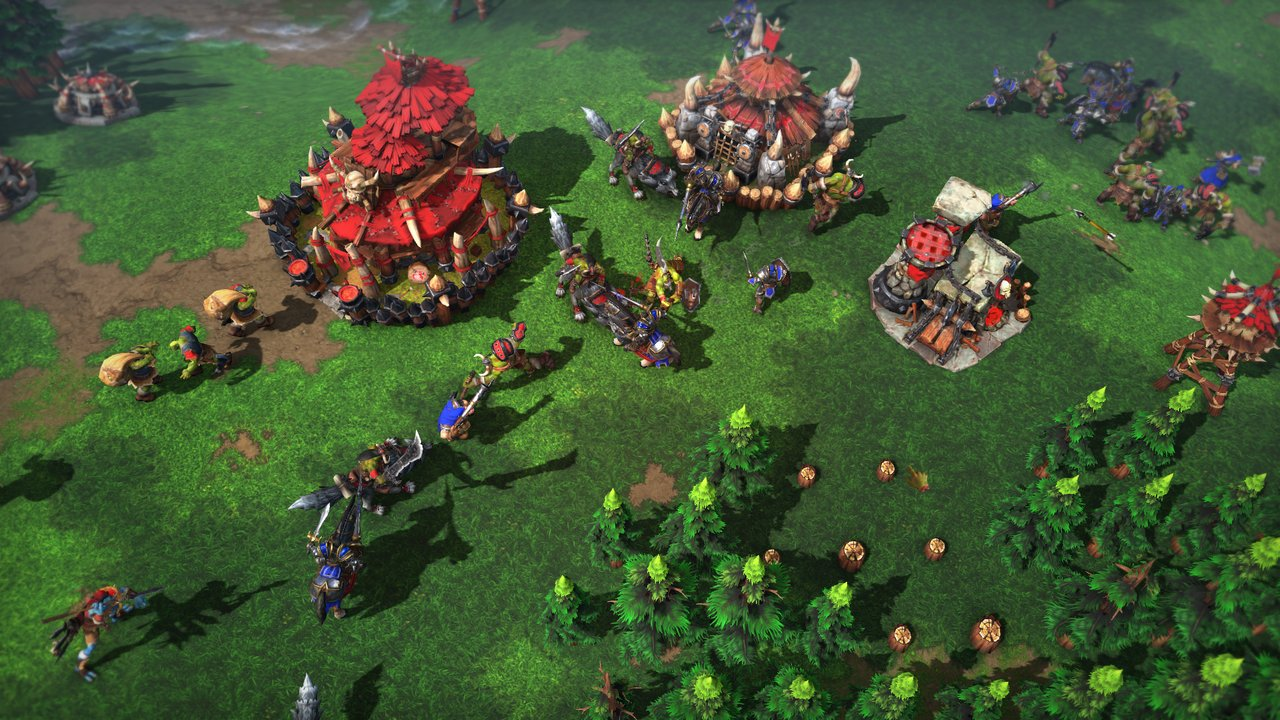 Blizzard announces Warcraft 3 Reforged edition.