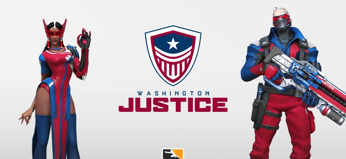 Washington Justice reveals its branding, promises a roster reveal soon