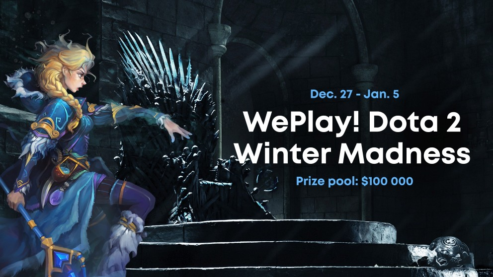 WePlay invite NIP, Alliance and Forward Gaming to their Winter Madness Event.