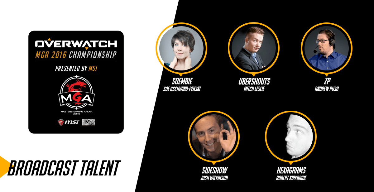 Overwatch MSI Talent lineup announced