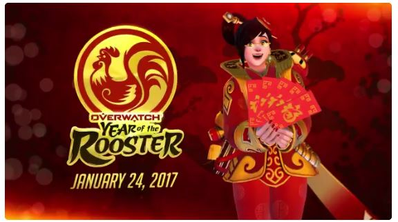 Overwatch Year of the Rooster event might be bigger than it looks