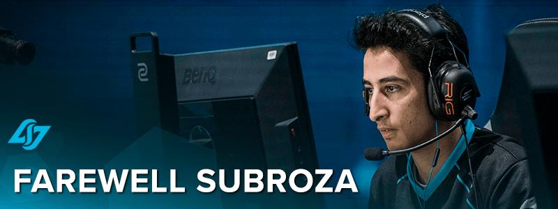 "Yassine ""Subroza"" Taoufik leaves CLG"