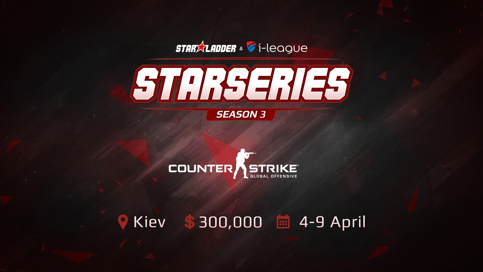 SL i-League CS:GO StarSeries S3 announces prize pool, location and event details