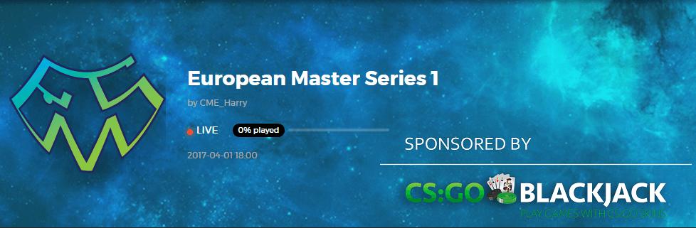 European Master Series 1 kicks off Saturday, April 1st