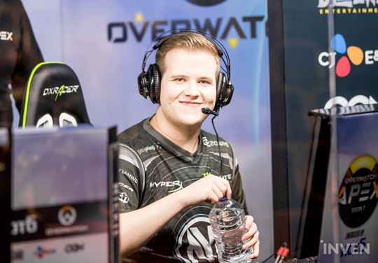 Taimou pumped up before Dallas Fuel's first OWL Pre-Season Match