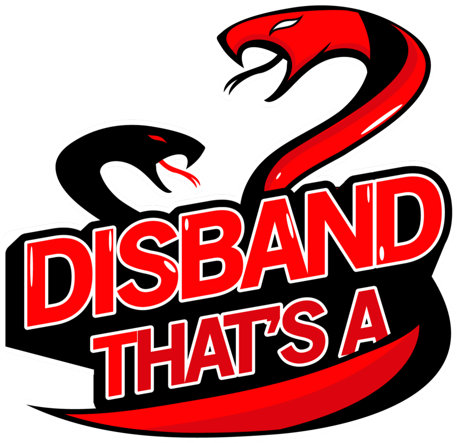 That's a Disband disbands
