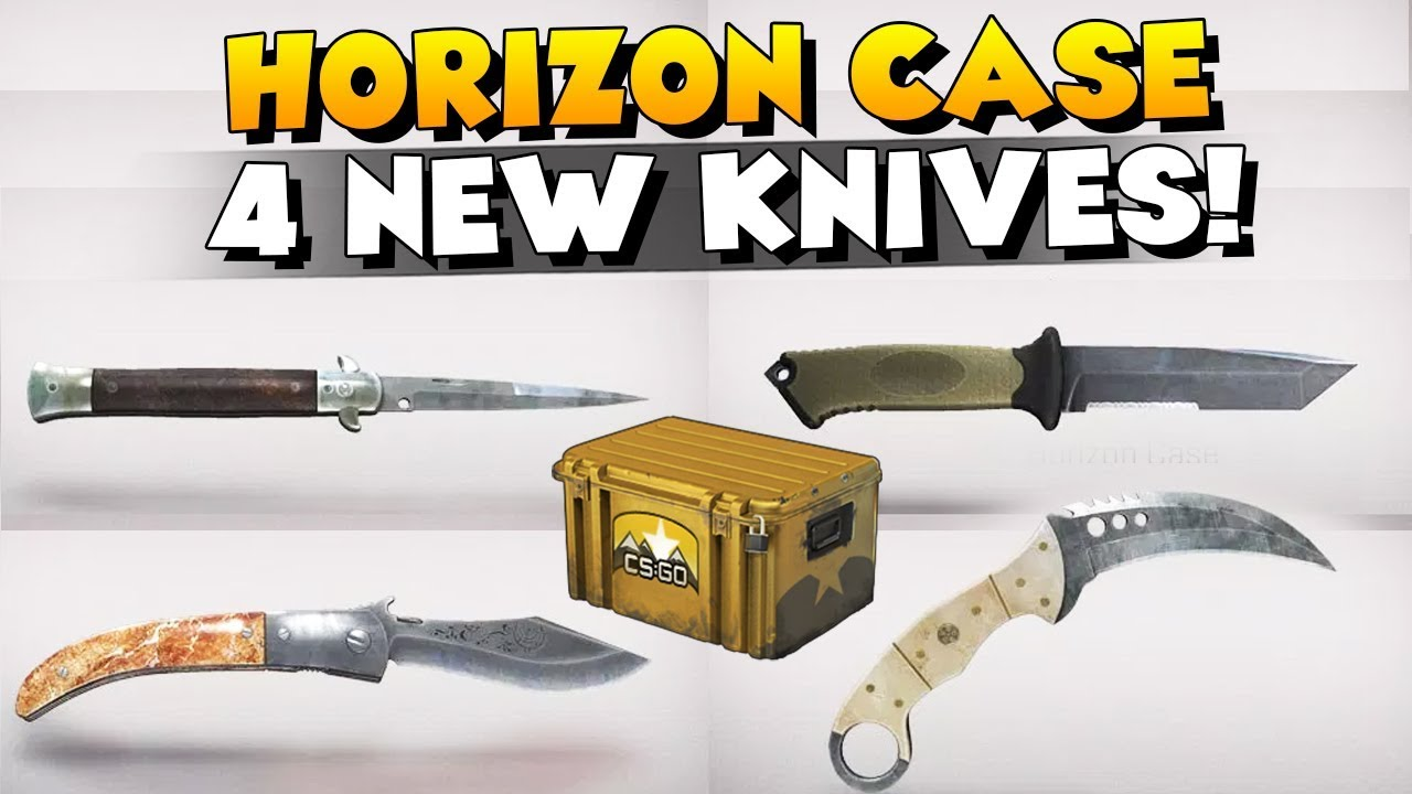 Valve releases 'Horizon Case' containing 4 new knives and 17 community skins