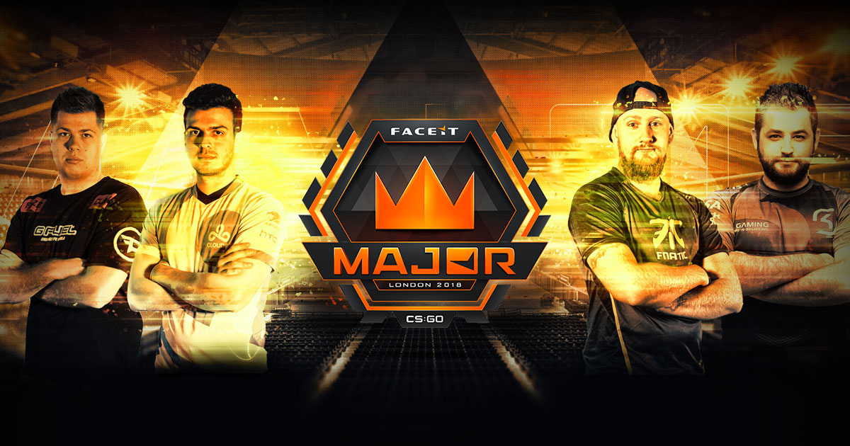 Na'Vi and Astralis reach the finals of FaceIT London Major.