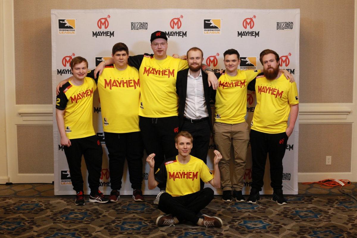 Florida Mayhem parts ways with Six Season 1 players