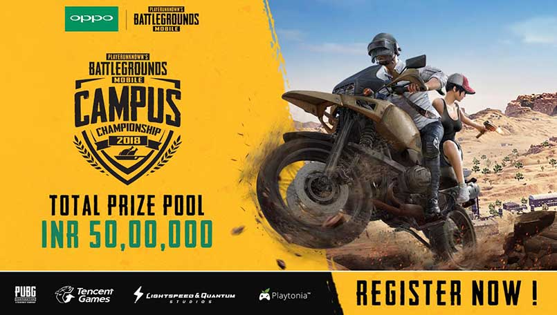 Tencent Gaming announces PUBG Mobile Campus Championships for India