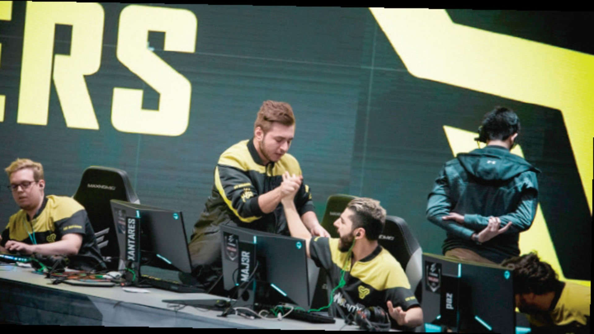 Xantares and co. part ways with Space Soldiers
