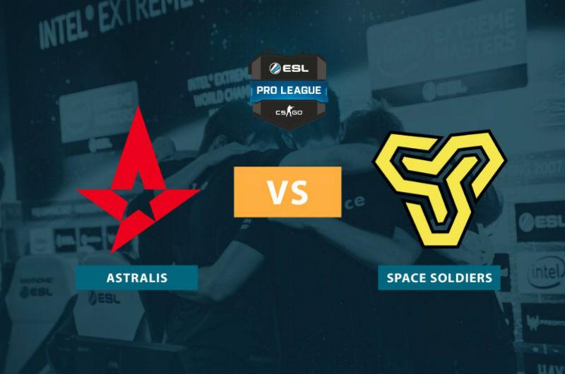 ESL Pro EU: Astralis vs Space Soldiers