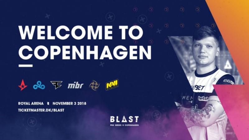 BLAST Pro Series: Copenhagen full team lineup finalized