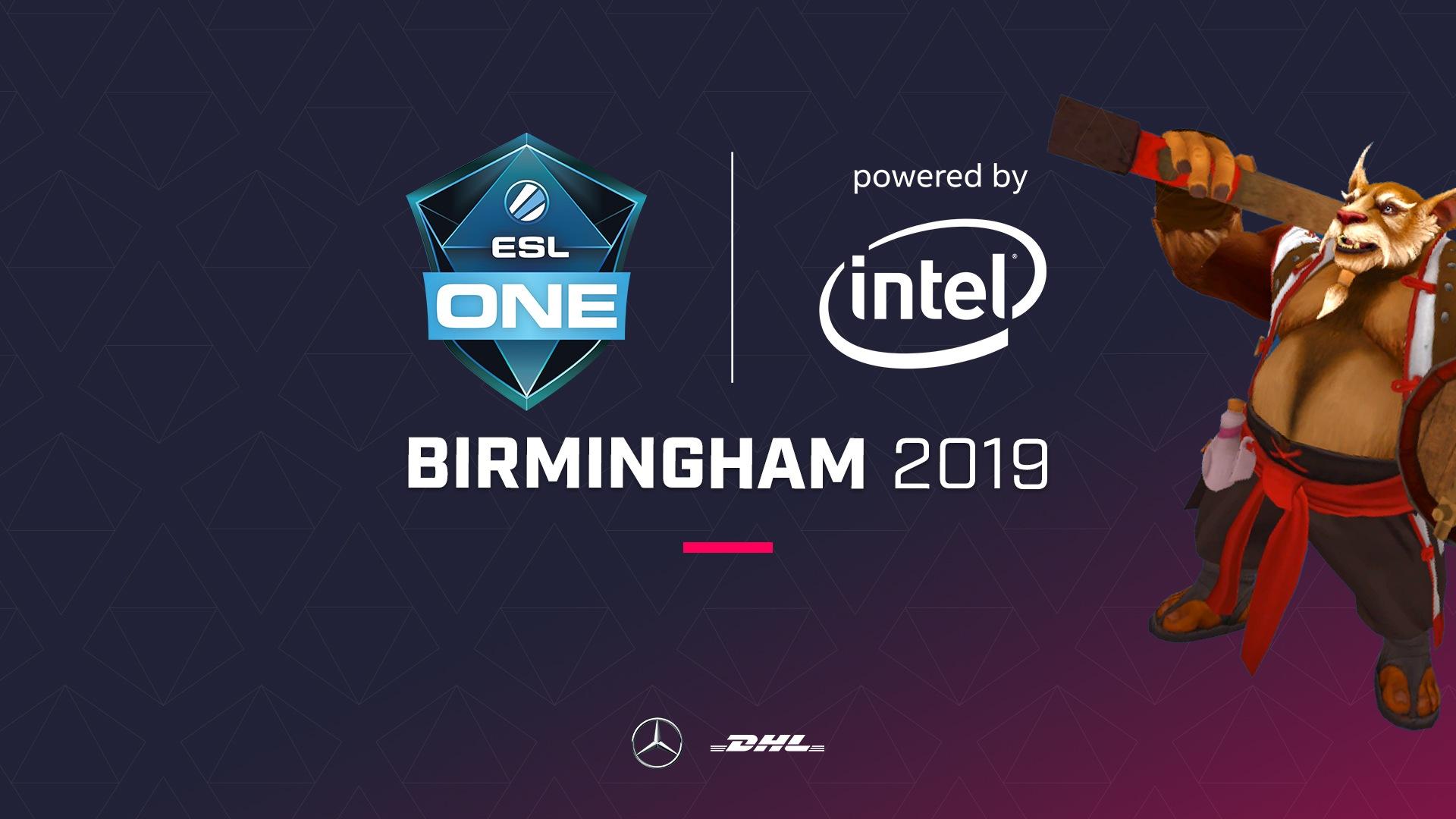 ESL Dota 2 returns to UK with ESL One Birmingham 2019