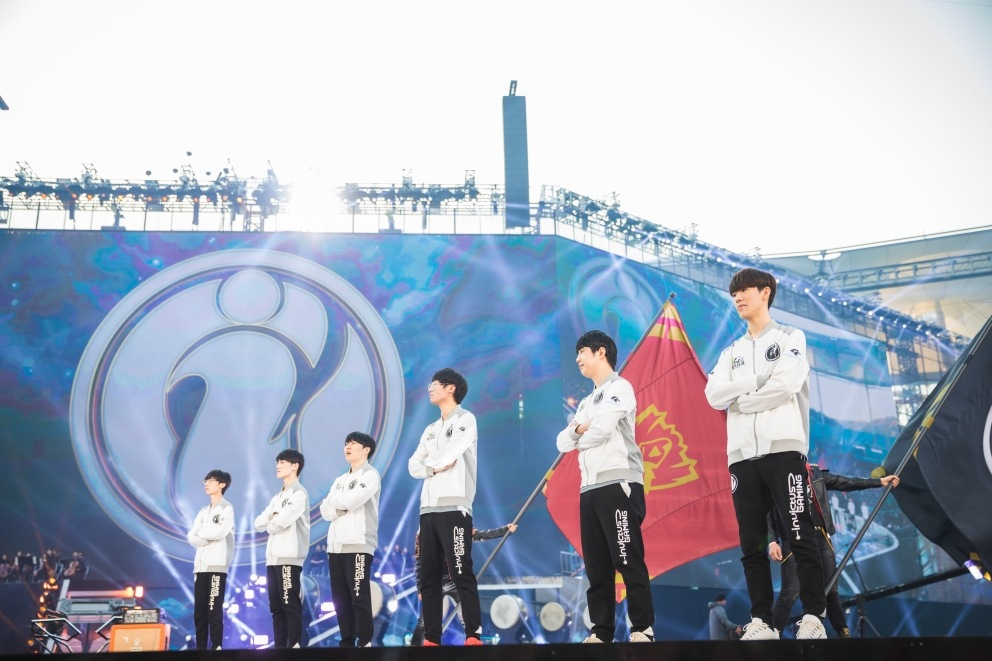 Invictus Gaming win Worlds 2018, bring the Summoner's Trophy to China.