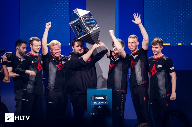 Astralis wins the Intel Grand Slam and ESL Pro League LAN Finals.