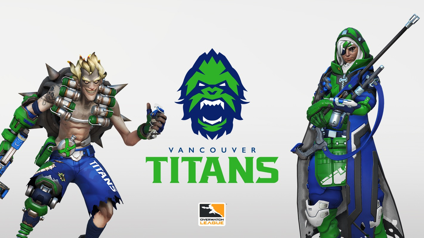 Vancouver Titans is the latest team announcement for the Overwatch League