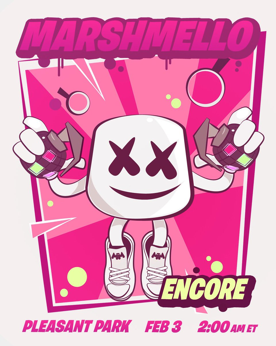 Fortnite hosts a digital concert in-game with Marshmello