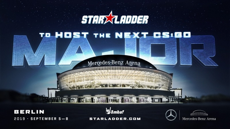 Starladder to host the next CSGO Major in Berlin.