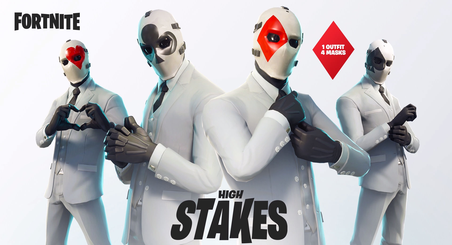 Get your suits Ready, PayDay is making its way to Fortnite