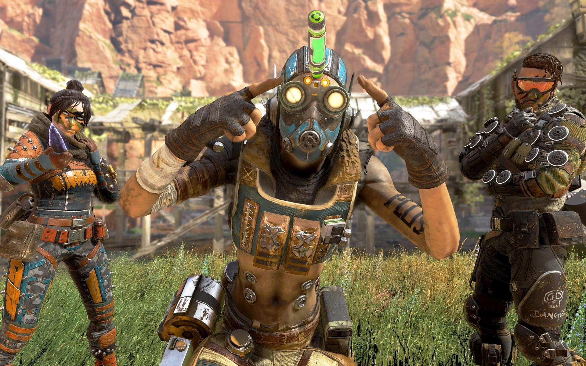 Apex Legends free fall on Twitch
