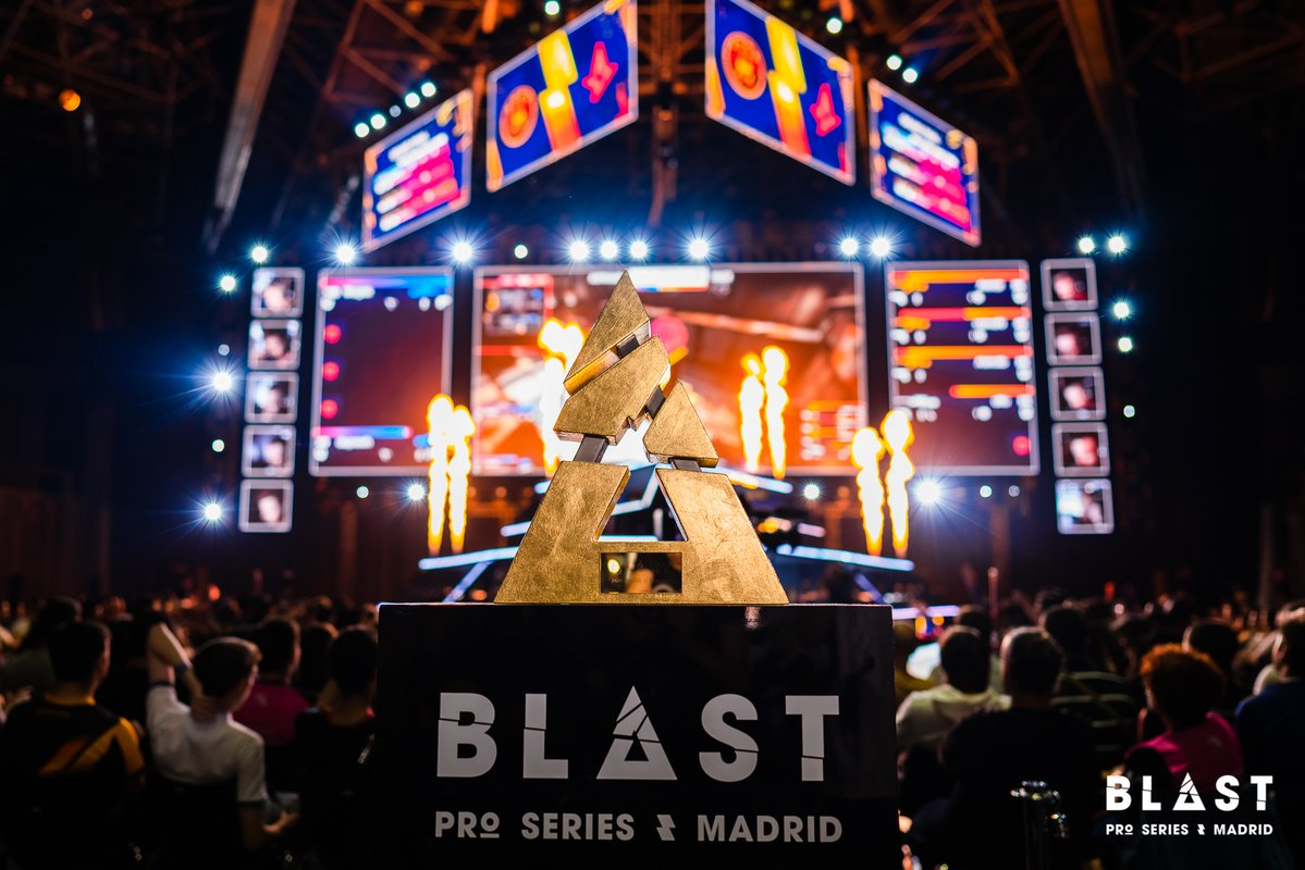 The winners and the losers of BLAST Pro Series Madrid