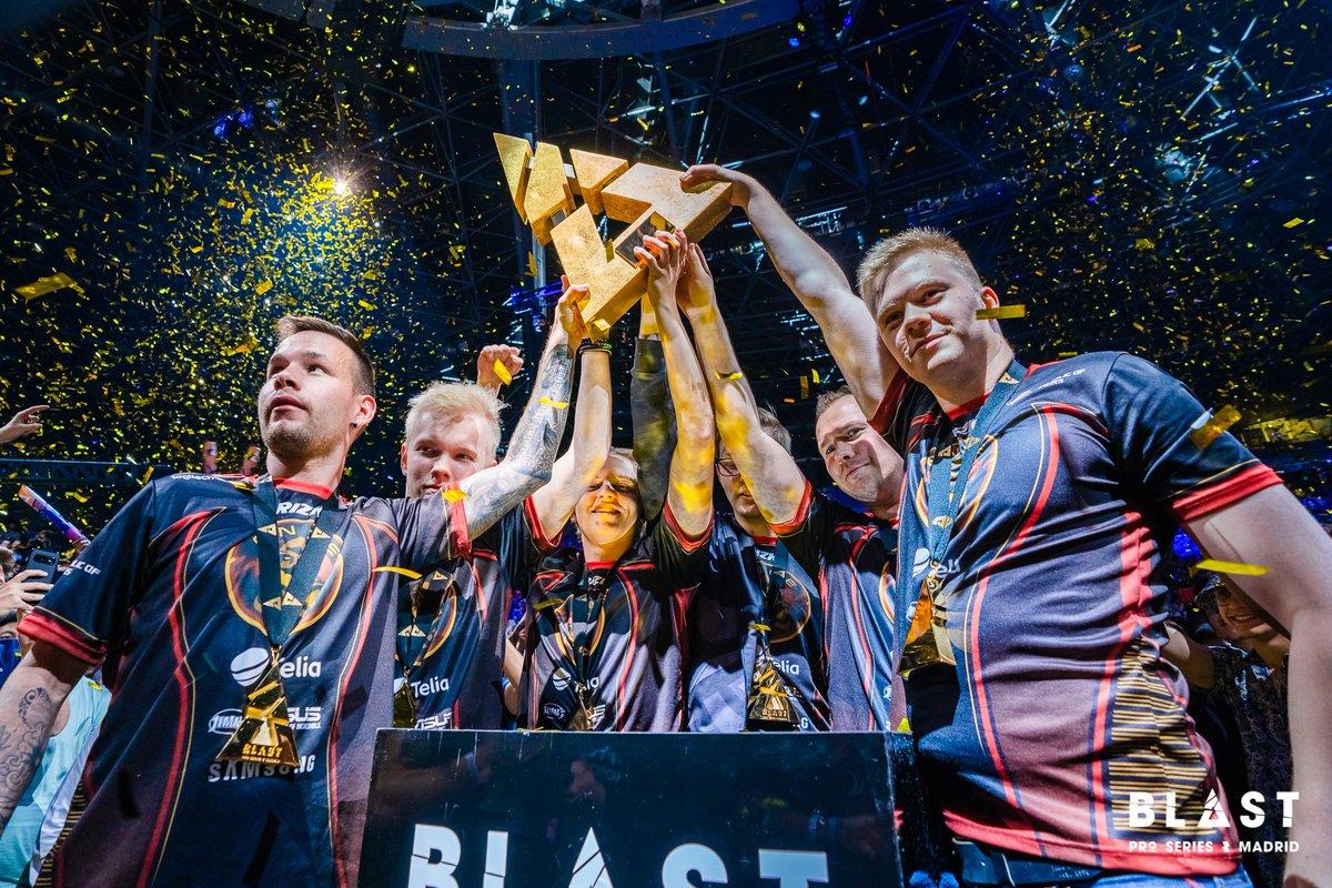 ENCE wins BLAST Pro Series Madrid