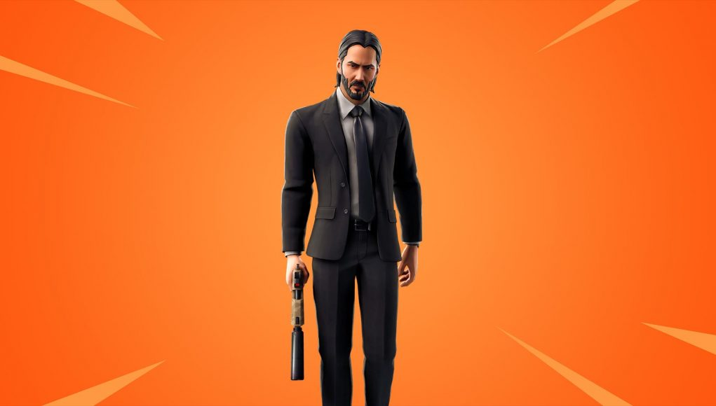 John Wick is coming up to Fortnite