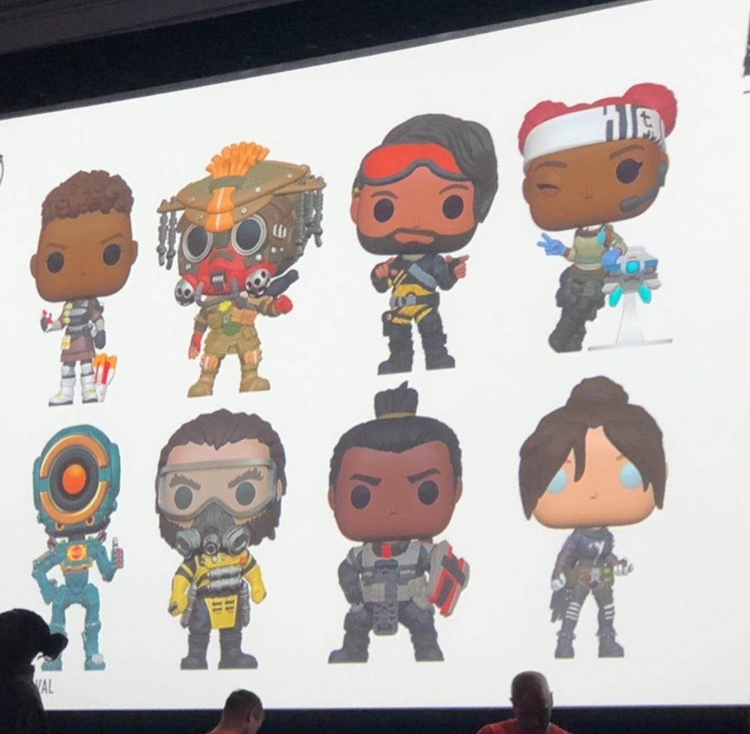 Apex Legends: Official Funko Pop! figures set to appear