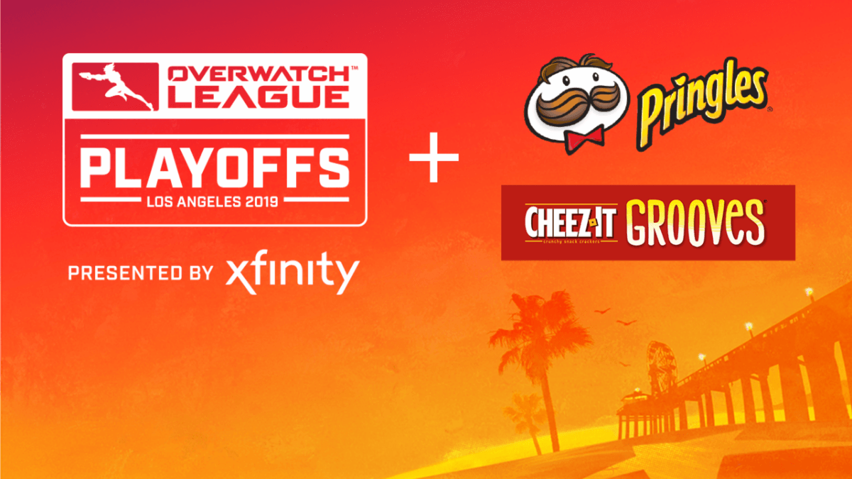 Overwatch League announces Kellogg Company's multi-year agreement