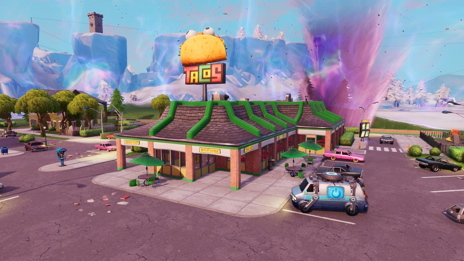 Fortnite fails to show how Taco Time can lead to a rapid death