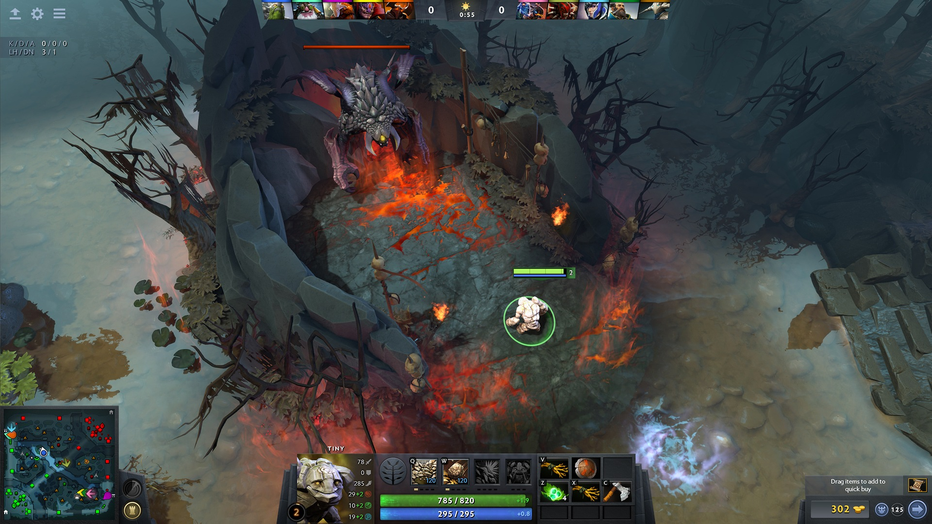 Dota 2 had a small New Year's Eve update
