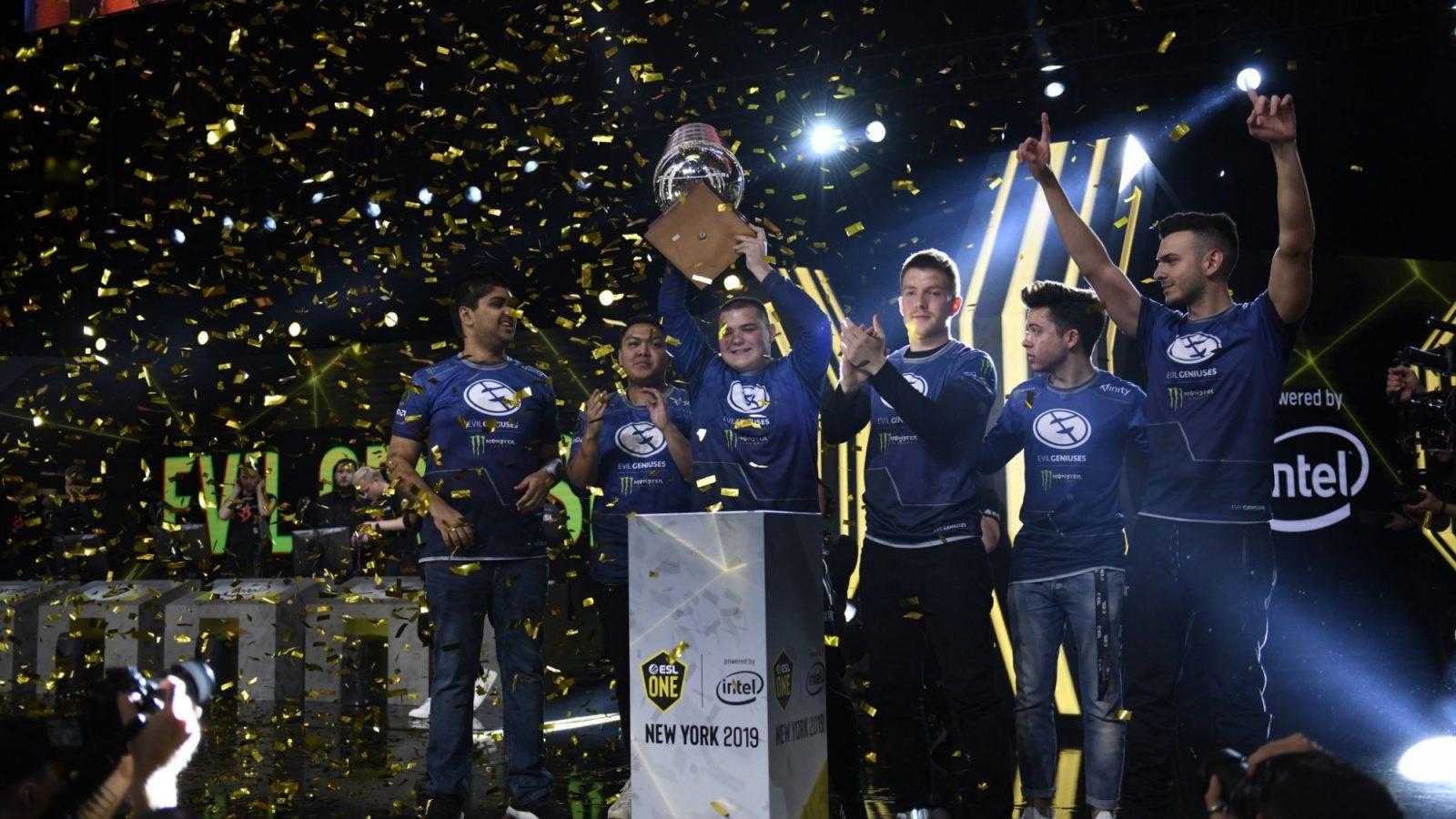 Evil Geniuses at +150 in winning CSGO Asia Championships 2019