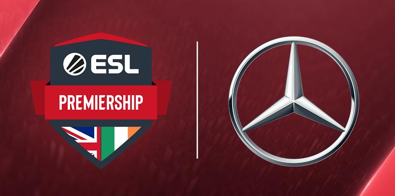 Mercedes to sponsorship tournament Dota 2 ESL Premiership in the UK