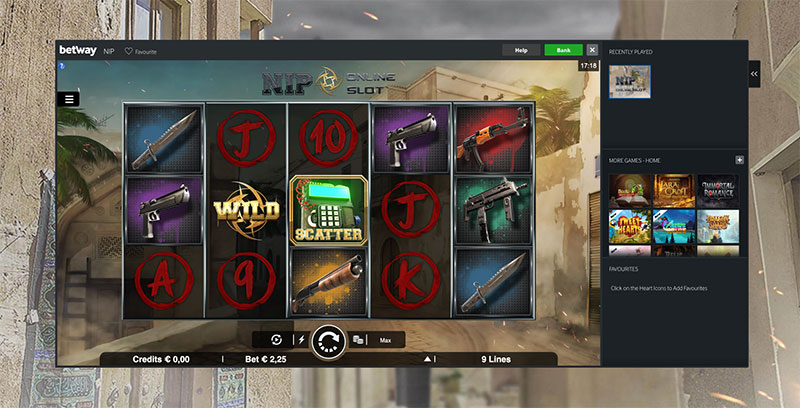 Esports Betway offers new CSGO slot game