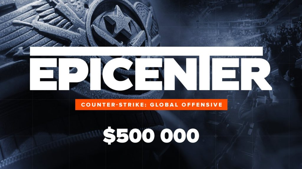 CSGO 'EPICENTER' 2019 Event announced with a prize pool of $500,000