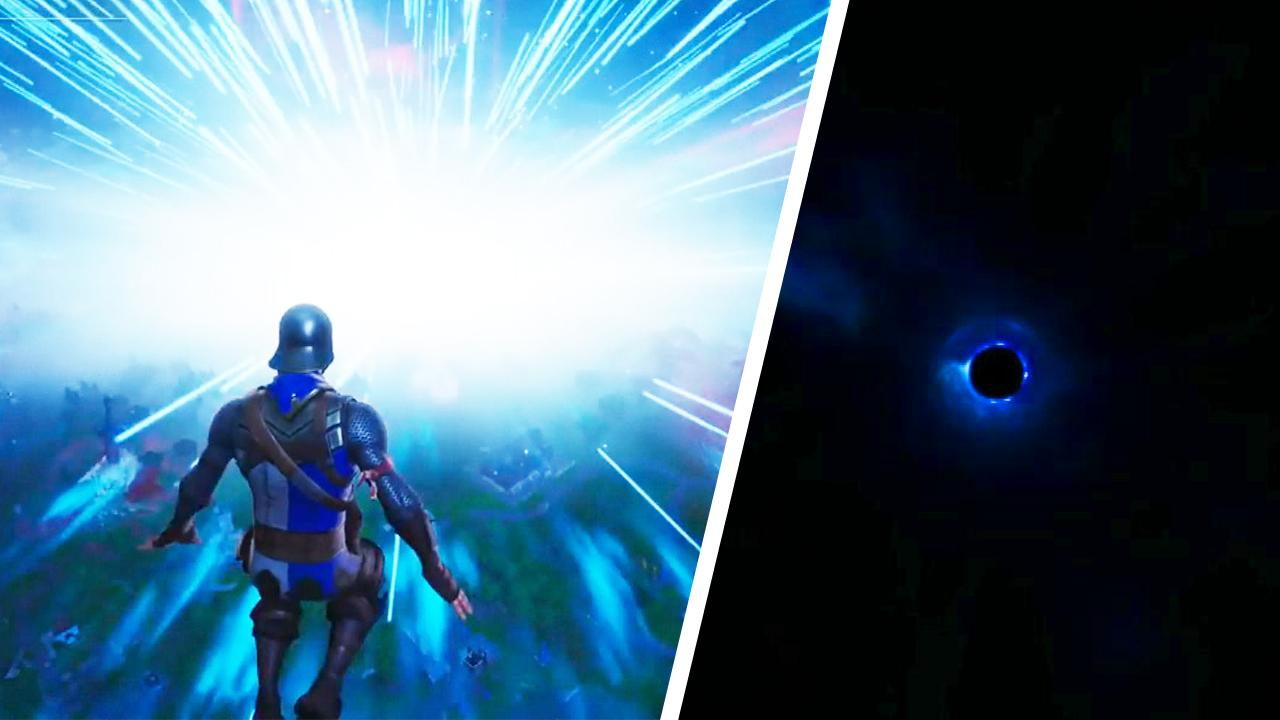 The Fortnite 'Black Hole' event broke twitch as well as Twitter