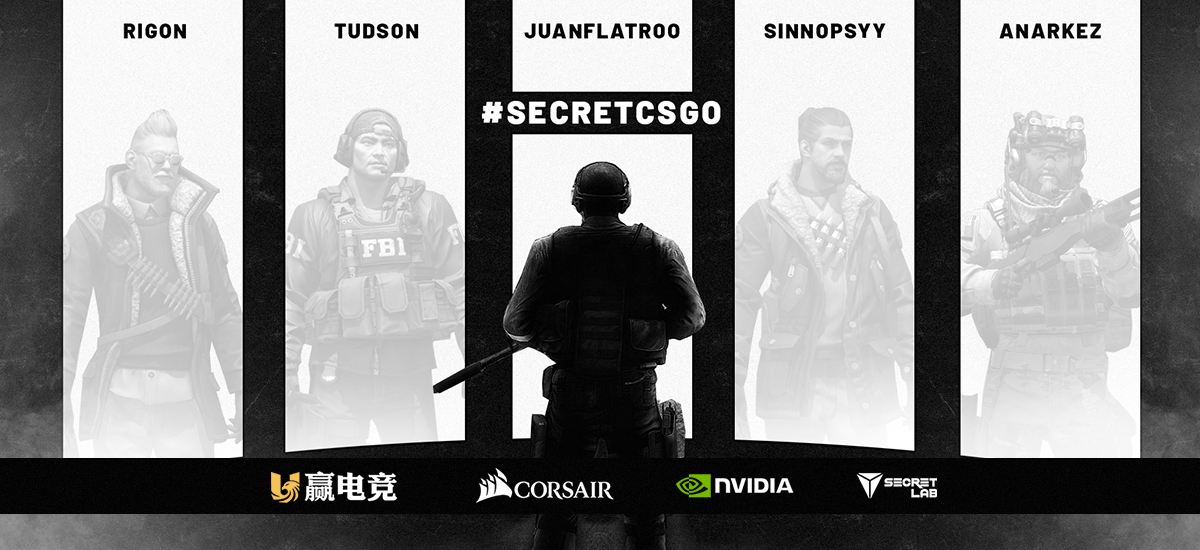 New roster announced for Team Secret, as they announce return to CS:GO