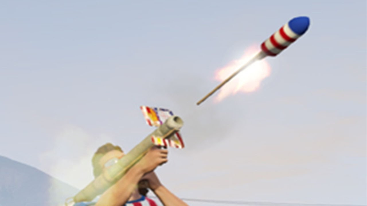 GTA Online gives all players Firework launchers for New Years Eve