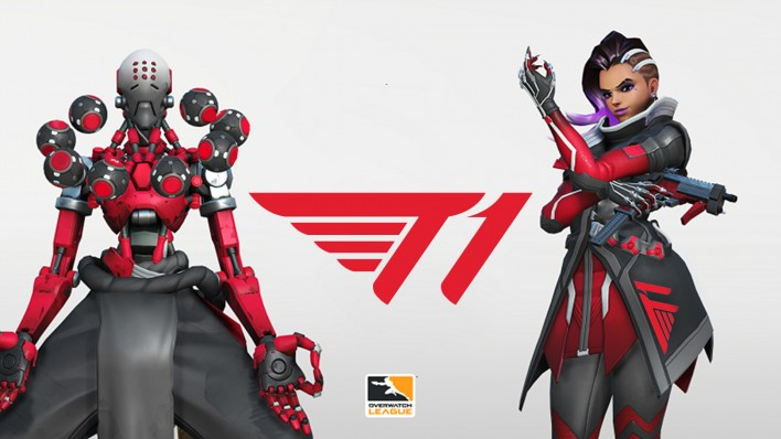 T1 announces join of Overwatch Contender Korea 2020