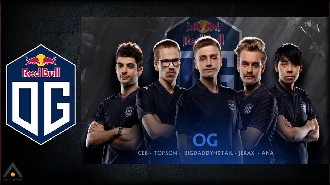Highest paid Dota 2 Players are from Team OG