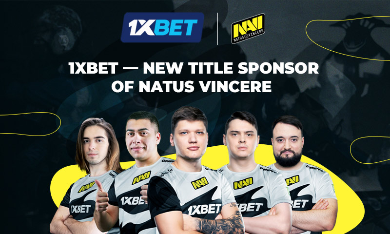 Esports organisation Natus Vincere boosted by 1xBet sponsorship deal