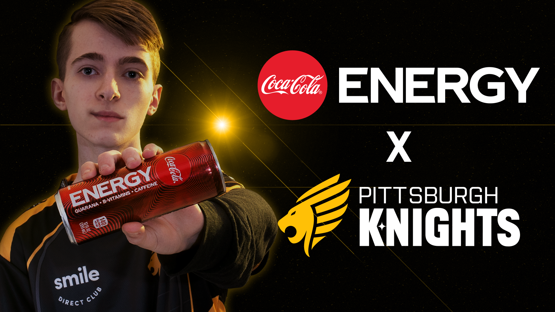 Pittsburgh Knights agree partnership with Coke Energy