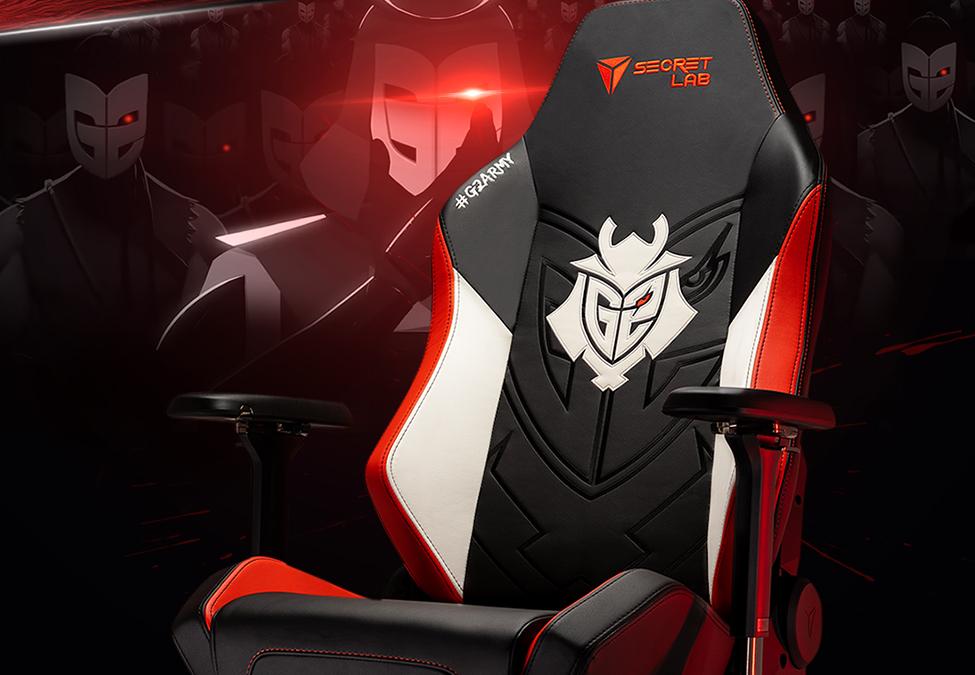 G2 Esports establish new partnership with Secretlab